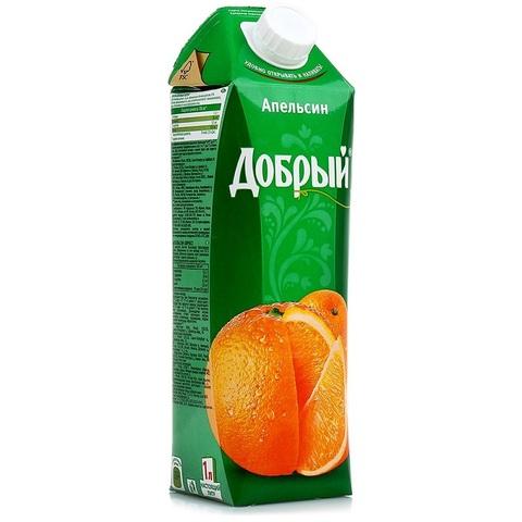 Сок добрый апельсин МИНИМАРКЕТ