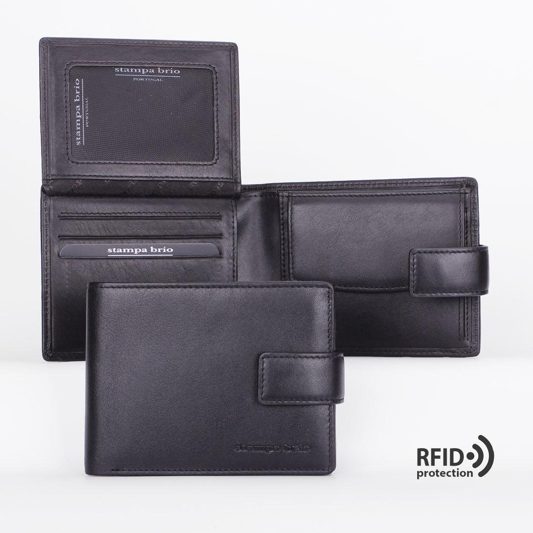 651 R - Портмоне потайным отделением и RFID защитой