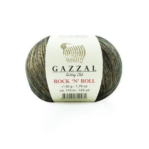 Пряжа Gazzal Rock n Roll 13186 бронза