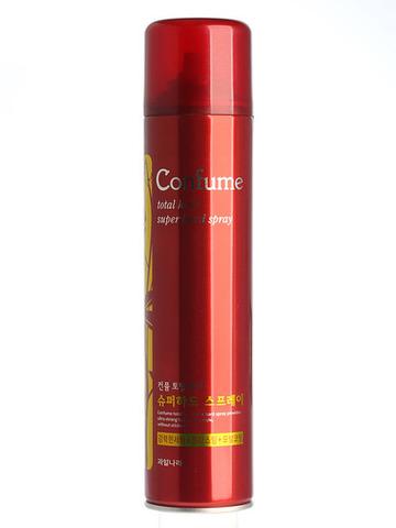 WELCOS Confume TH Спрей для волос сильной фиксации Confume Total Hair Superhard Spray 300мл