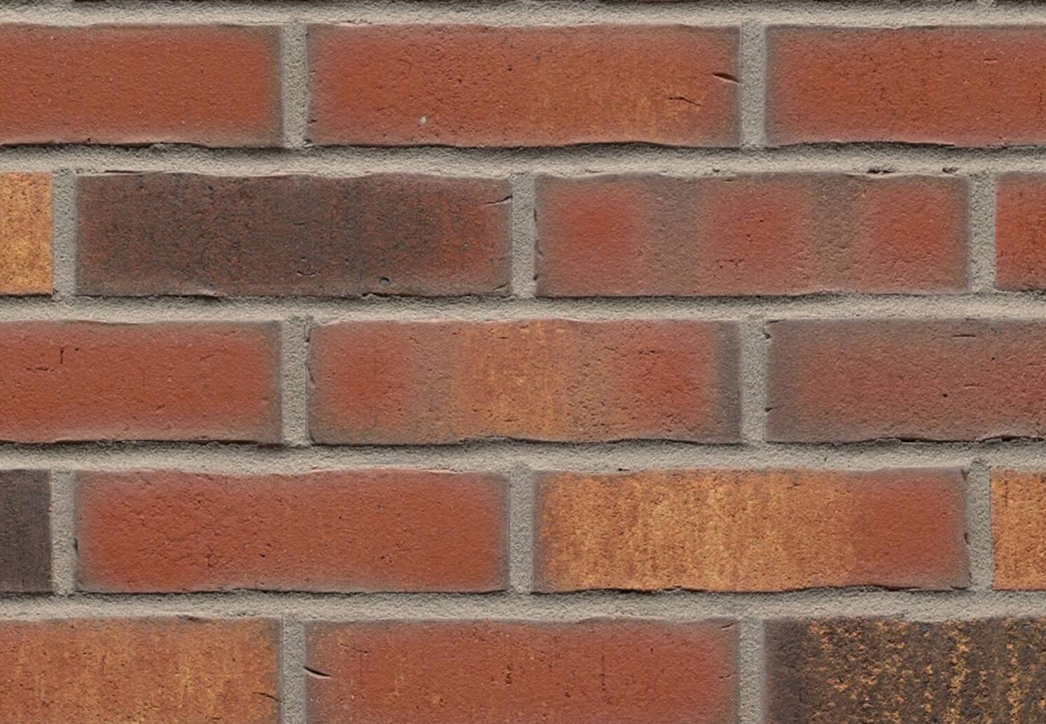 Feldhaus Klinker - R744NF14, Vascu Carmesi Legoro, 240x14x71 - Клинкерная плитка для фасада и внутренней отделки