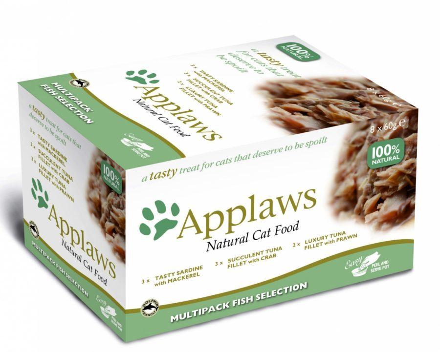 купить  Applaws Cat Fish Selection MP набор паучей для кошек