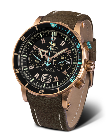 Часы наручные Восток Европа Анчар Бронза 6S21/510O585