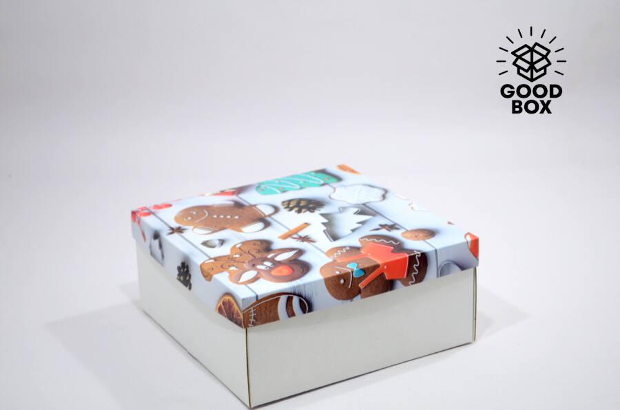 Коробки для подарков на новый год купить в Казахстане