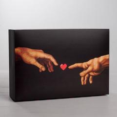 Коробка складная LOVE, 16 × 23 × 7.5 см, 1 шт.