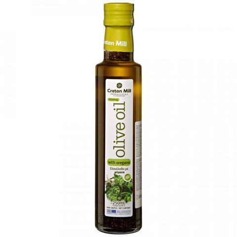 Оливковое масло с орегано, 250 мл.