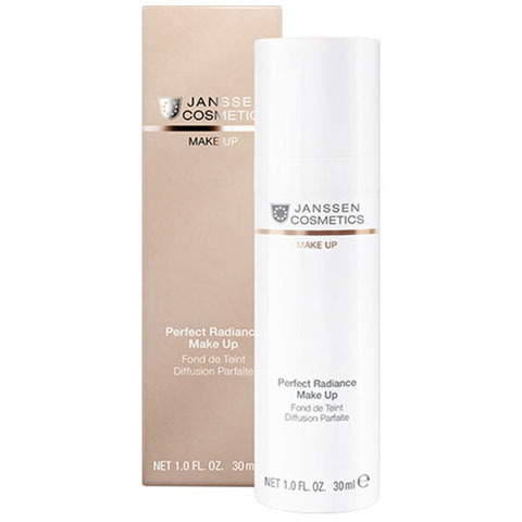 Janssen Make Up: Стойкий тональный крем с UV-защитой SPF-15 для всех типов кожи (Perfect Radiance Make-up)