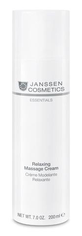 Релаксирующий массажный крем для лица,Janssen Relaxing Massage Cream,200 мл.