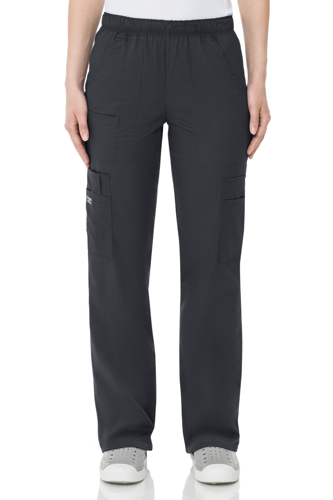 Брюки унисекс темно-серого цвета Cherokee Workwear