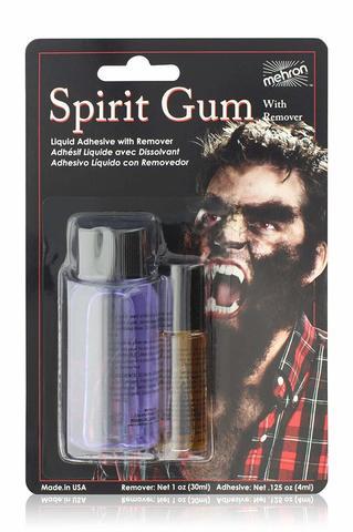 MEHRON Клей сандарачный + очиститель Makeup Spirit Gum and Spirit Gum Remover Combo set (.125 oz)