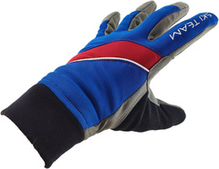 Перчатки лыжные Ski Team K18003BR сине/красные - 2