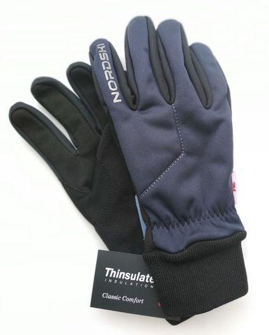 Перчатки Nordski Jr.Motion Blueberry WS, пар