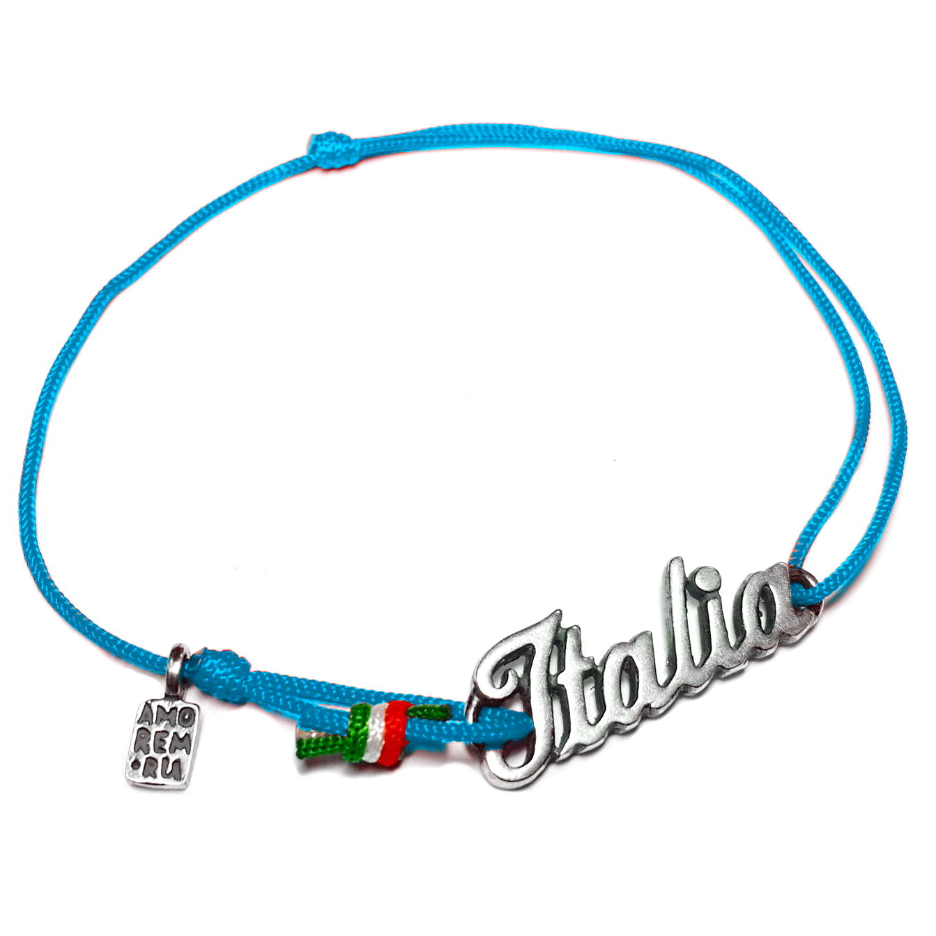 Italy Bracelet, sterling silver charm