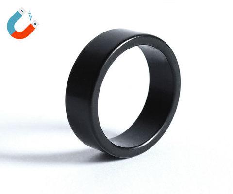 Магнитное кольцо для фокусов - черное, матовое