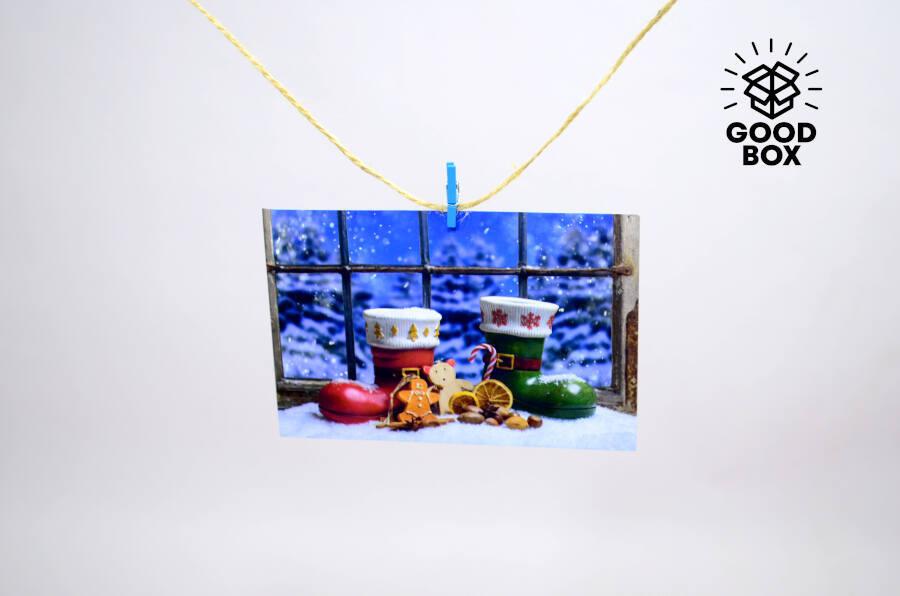 Новогодние наклейки в ассортименте купить в Алматы