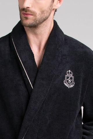 Мужской бамбуковый халат 11007-7 Laete