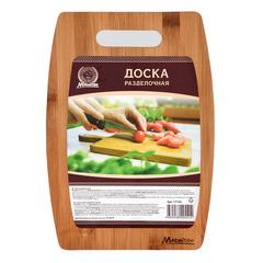 Доска разделочная бамбук 29х20,5 см