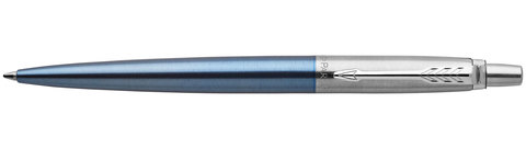Шариковая ручка Parker Jotter Essential Waterloo Blue CT123