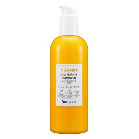 FarmStay Vitamin Daily Perfume Body Lotion парфюмированный лосьон для тела с витаминами