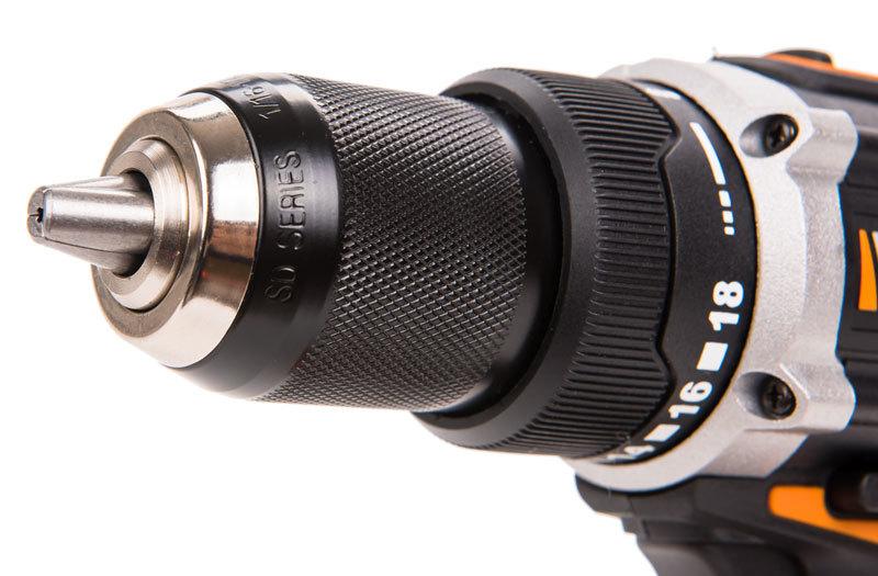 Дрель-шуруповерт аккумуляторная WORX BL WX175.9 20В