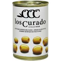 Los Curado  Оливки зеленые без косточки,  300г