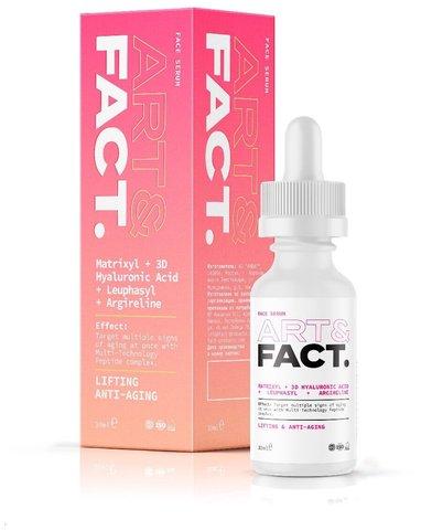 Сыворотка для лица с мульт. пептидов (Matrixyl+3D Hyaluronic Acid+Leuphasyl+Argilerine), 30ml