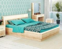 Кровать ОЛИВИЯ-1800 с подсветкой и подъемным механизмом