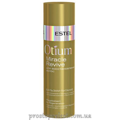 Estel Otium Miracle Revive Balm - Бальзам-питание для восстановления волос
