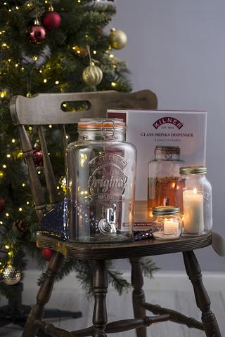 Диспенсер для напитков Clip Top 5 л в подарочной упаковке