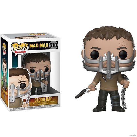 Фигурка Funko POP! Vinyl: Mad Max: Fury Road: Max w/ Cage Mask (Exc)