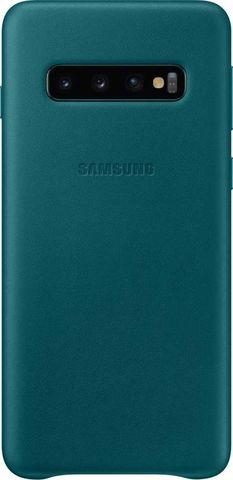 Чехол SAMSUNG Leather Cover для Samsung Galaxy S10 Зеленый
