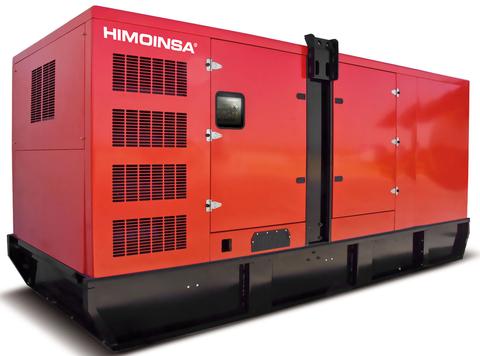 Дизельный генератор Himoinsa HDW-700 T5 в кожухе
