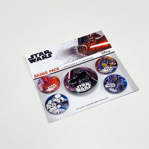 Набор значков Star Wars (Dark Side)