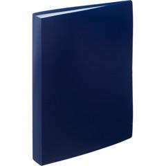 Папка файловая на 60 файлов Attache синяя