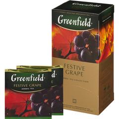 Чай Greenfield Festive Grape фруктово-ягодный 25 пакетиков