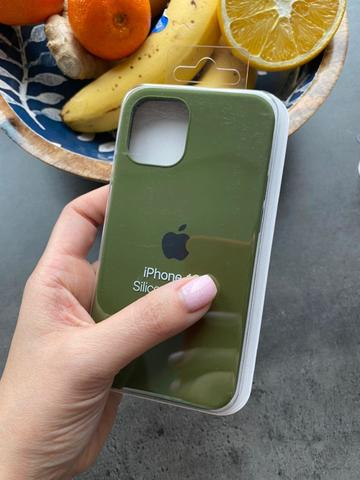 Чехол iPhone 12 (6,7) Silicone Case Full /virid/
