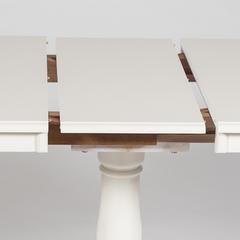 Стол Солерно (Solerno) Ivory white (слоновая кость) МК-2156-3