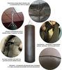 Боксёрский мешок D40, H130, W70-75, натуральная кожа.