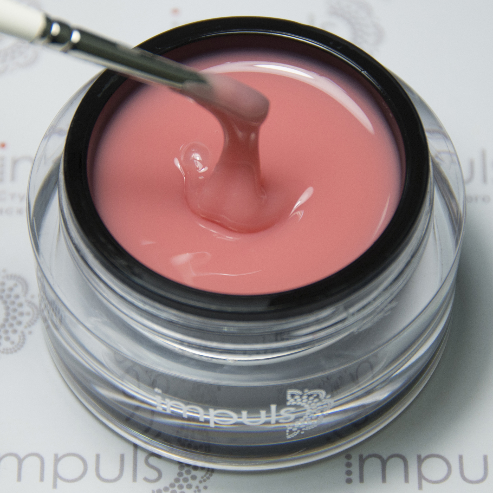 Sculpture Gel Natural Pink. Легкий камуфляж натурально-розовый