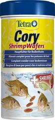 Корм-пластинки для рыб, TetraCory Shrimp Wafers, с добавлением креветок для сомиков-коридорасов