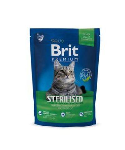 3902 Brit Premium Cat Sterilized д/стерилизованных кошек и котов с Курицей 1,5кг*10