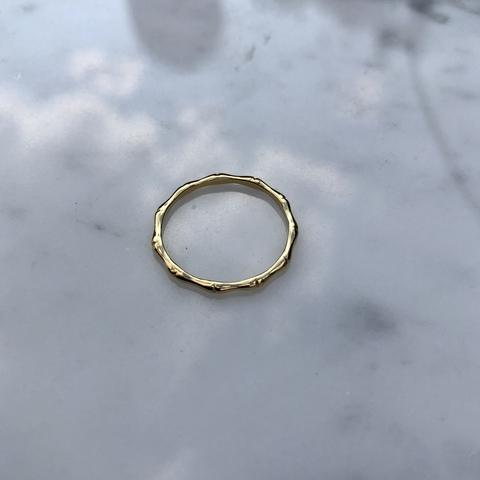 Кольцо Кадена, позолота