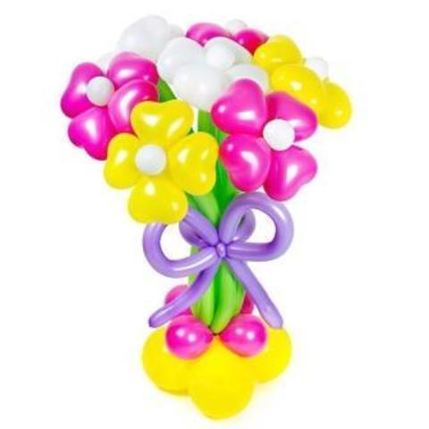 Букет цветов  Радужный