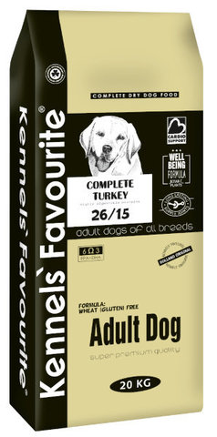 Kennels` Favourite Adult Dog Для взрослых собак 4 кг.