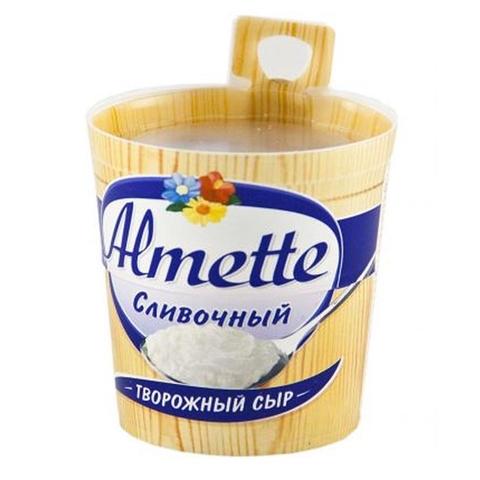 Сыр творожный ALMETTE Сливочный 150 гр Hochland РОССИЯ