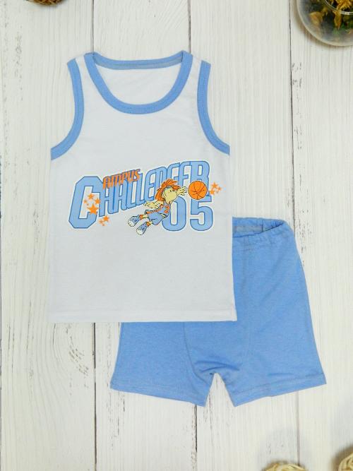 Комплект для мальчика, 2666, голубой