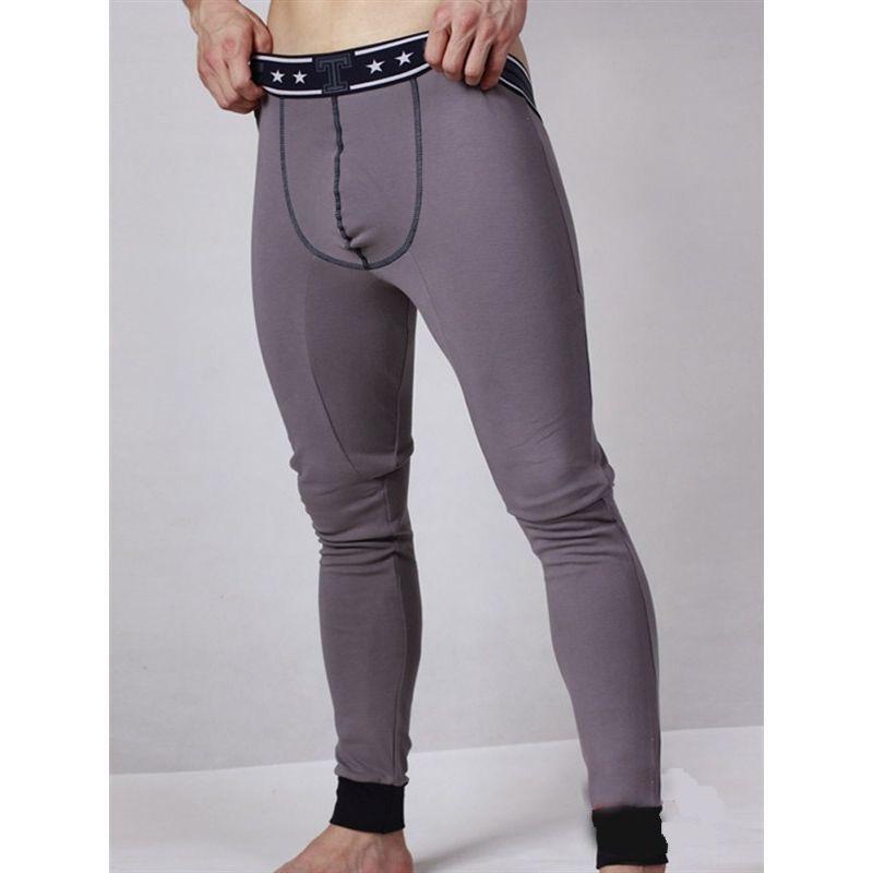 Кальсоны мужские  темно-серые TOOT Long Johns Gray