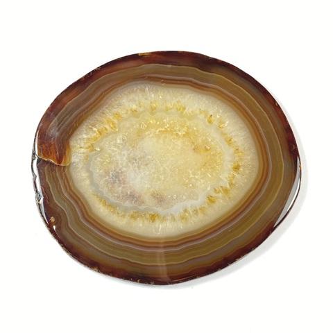 Агат полированный срез 11х9,5 см (147 гр)