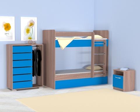 Кровать ОНТАРИО-1800-0700 /1832*1604*852/ правая