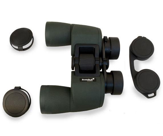 Sherman Pro 10x42 с защитными крышками объективов и окуляров